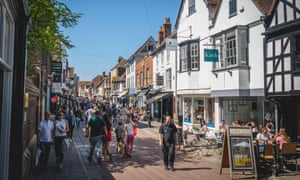 Swearing is banned in parts of Canterbury, pictured.