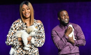 Las Vegas, USTiffany Haddish and Kevin Hart appear at the Universal Pictures Upcoming Slate Presentation at CinemaCon.