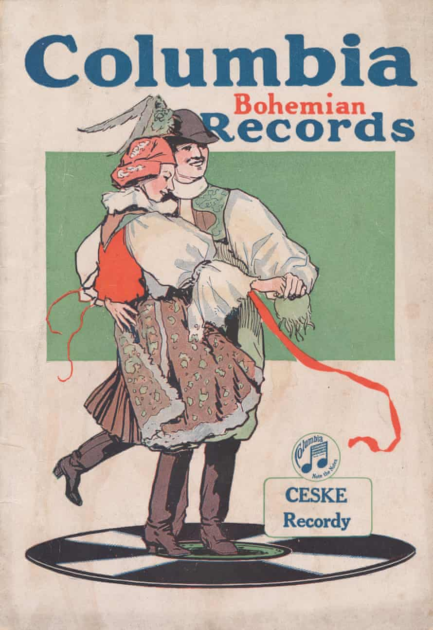 Cover of Columbia Bohemian Records catalogue, 1926.