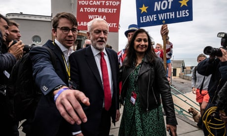 Corbyn heading for clash with Labour members by calling for Brexit decision to be postponed – live news
