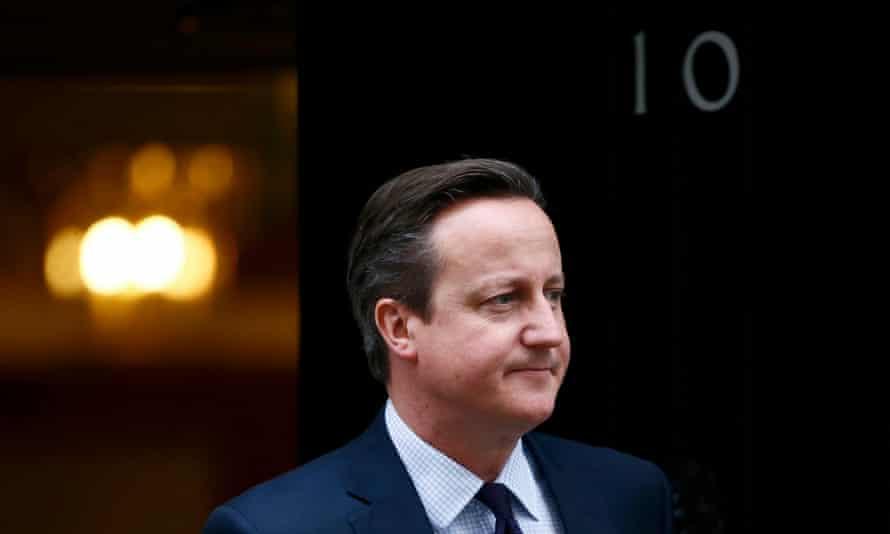 David Cameron at No 10