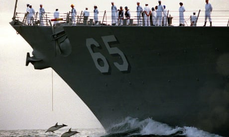 US Navy banned from using sonar that harms dolphins and walruses