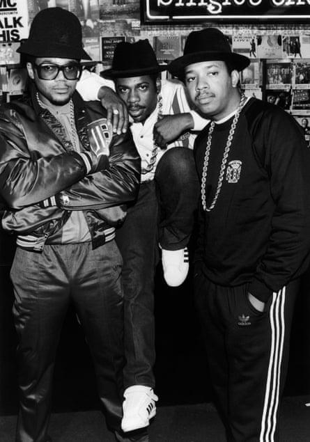 Tougher than leather: Run DMC in 1986.