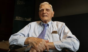 Prof John Goodenough, the oldest person to receive a Nobel prize, for his work on lithium-ion batteries.