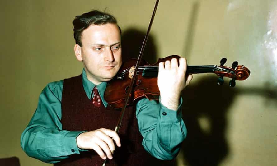 Nigel Kennedy's musical mentor Yehudi Menuhin in 1949.