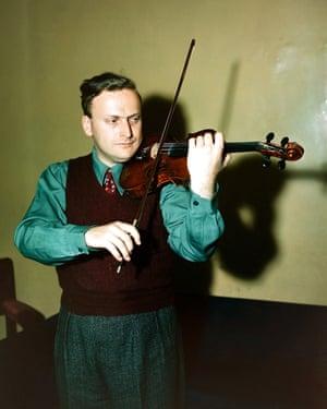 Yehudi Menuhin 1949.