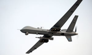 A RAF Reaper UAV (unmanned aerial vehicle).