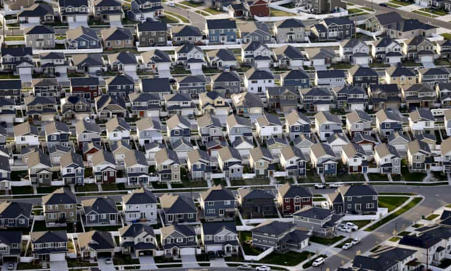 Rows of homes in suburban Salt Lake City. US natural gas has climbed to its highest price since 2014 and is up roughly 90% over the last year. The wholesale price of heating oil has more than doubled in the last 12 months.