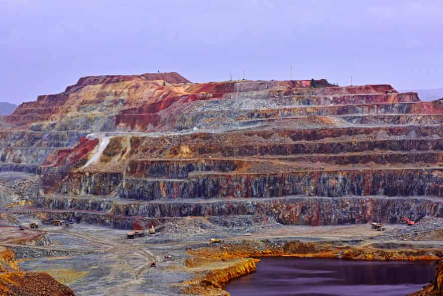 Rio Tinto mining park in Huelva, Spain.