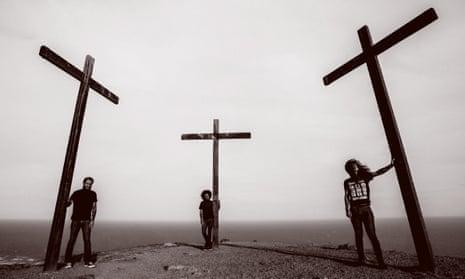 Cacophonous … São Paulo trio Deafkids.