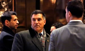 Vincent Viola at Trump Tower in Manhattan in December.