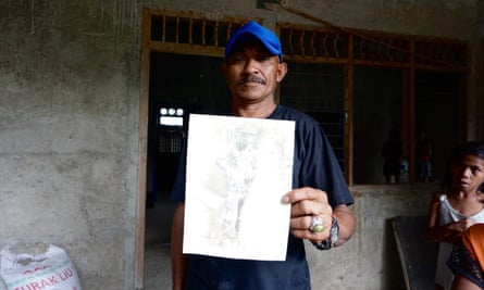 Miguel Amaral, who was abducted from his family as a child, returns to Timor Leste.