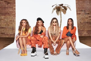 Little Mix, nominated twice this year.