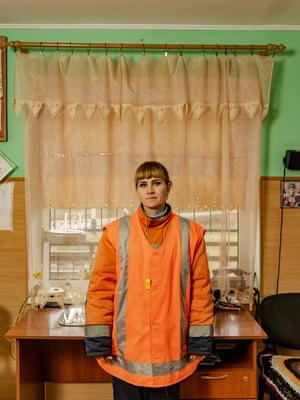 Hanna Harlamova, 987 Km crossing, Aromatna - Pavlograd distance, Cisdnieper Railways