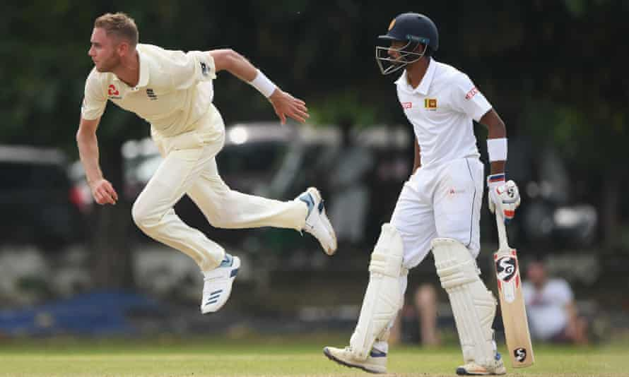 Stuart Broad, bowling in Colombo on Friday, may not make the cut for the first Test.