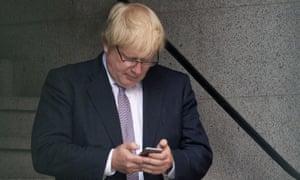Boris Johnson WhatsApp