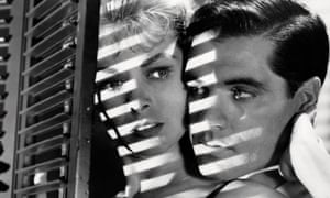 Janet Leigh and John Gavin in Alfred Hitchcock's Psycho