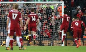 Mo Salah misses penalty