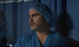 Mixed metaphor … Joaquin Phoenix in Shaun Monson's short film.