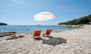 Campsite Porto Sole, at Vrsar in Croatia.