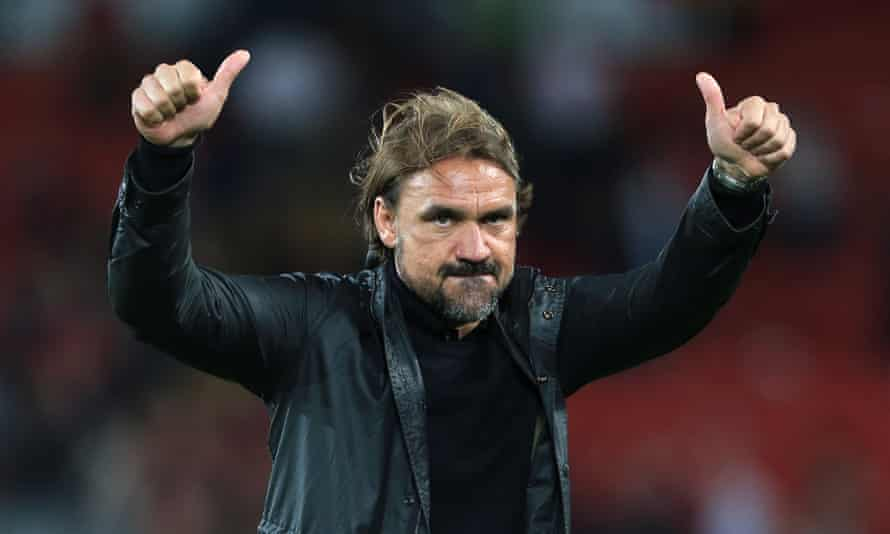 Daniel Farke's approach received a general thumbs-up despite Norwich's 4-1 defeat at Liverpool.