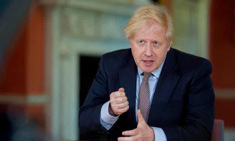 Boris Johnson addresses the nation on 10 May