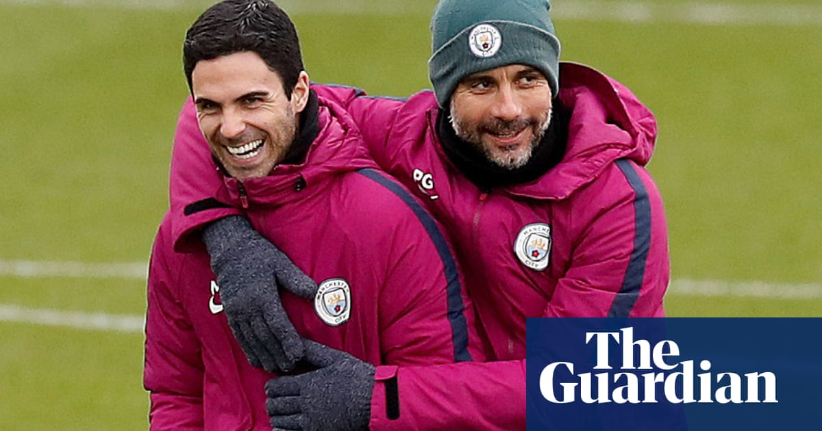 How Mikel Arteta learned the Pep Guardiola way at Manchester City