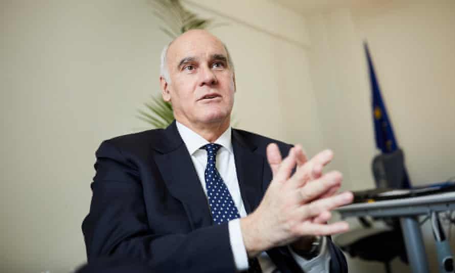 João Vale de Almeida, the EU ambassador to the UK.