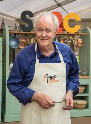 Immensely pleasing ... John Lithgow in The Great Celebrity Bake Off.