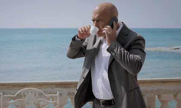 Luca Zingaretti as Inspector Montalbano in the Italian TV series based on Camilleri's character.
