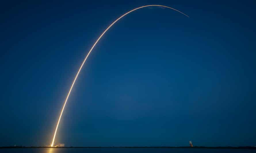 Cape Canaveral, Florida, December 2013: SpaceX successfully completes its first geostationary transfer mission, delivering the SES-8 satellite to its targeted orbit.