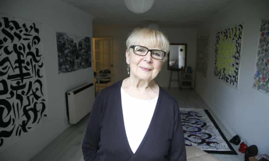 Sally Jacobs in 2015. She was an important figure in theatre for half a century