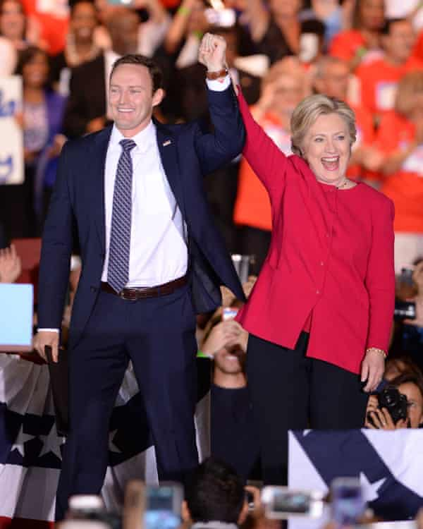 Hillary Clinton campaigns with Patrick Murphy