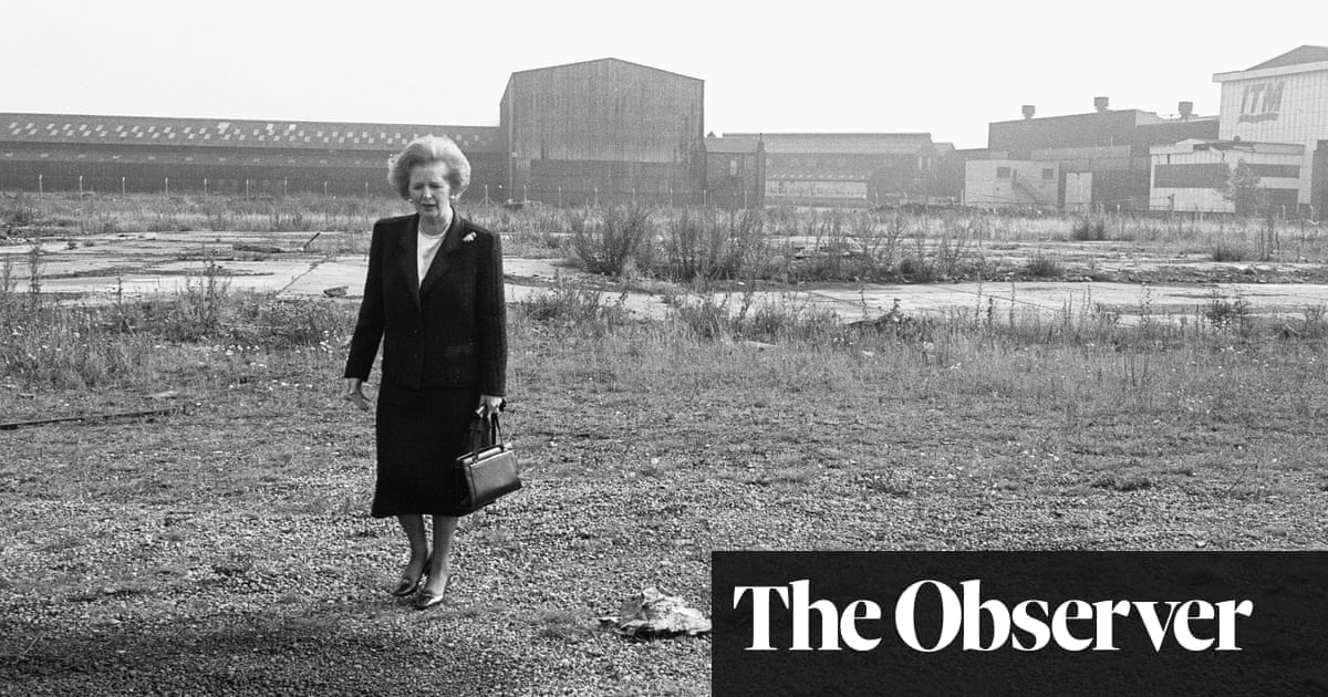 Industrial collapse of Thatcher years led to crime rise