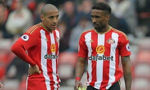 The sidelining of Wahbi Khazri has arguably cost Sunderland, who can expect to lose Jermain Defoe, right, for nothing this summer.