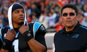Ron Rivera was fired this week as Panthers coach, and Cam Newton may not be in Carolina for much longer