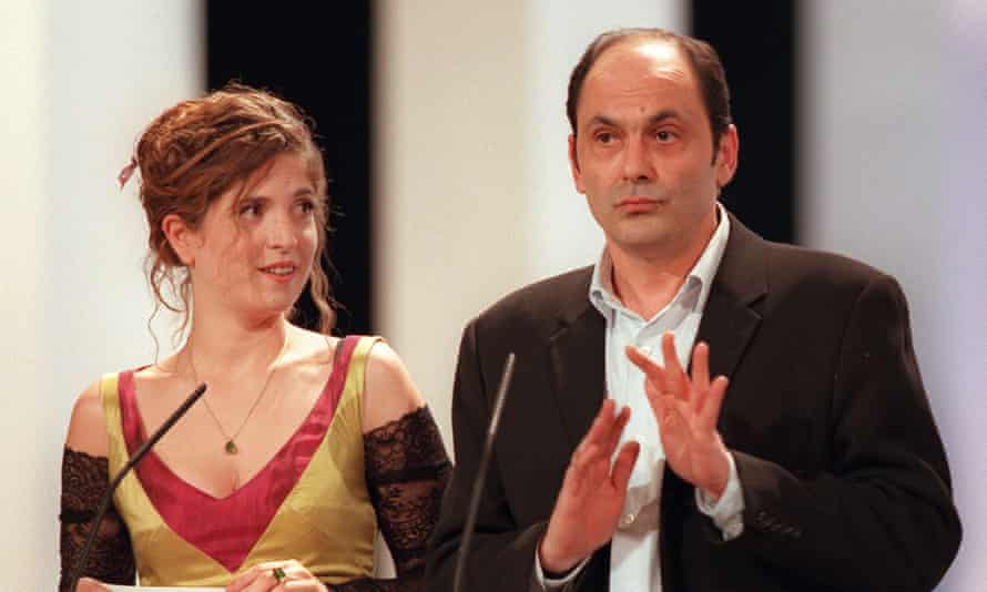 Agnes Jaoui and Jean-Pierre Bacri in 1998