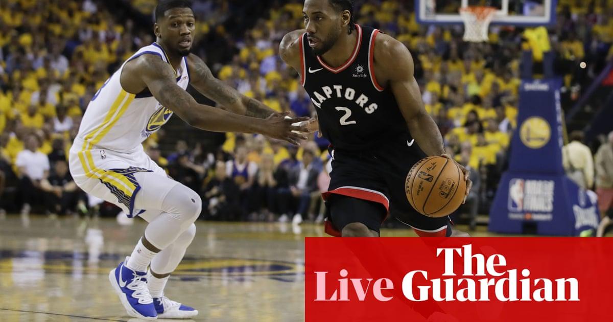 8004aeab373 NBA finals Game 3: Toronto Raptors 123-109 Golden State Warriors – as it  happened