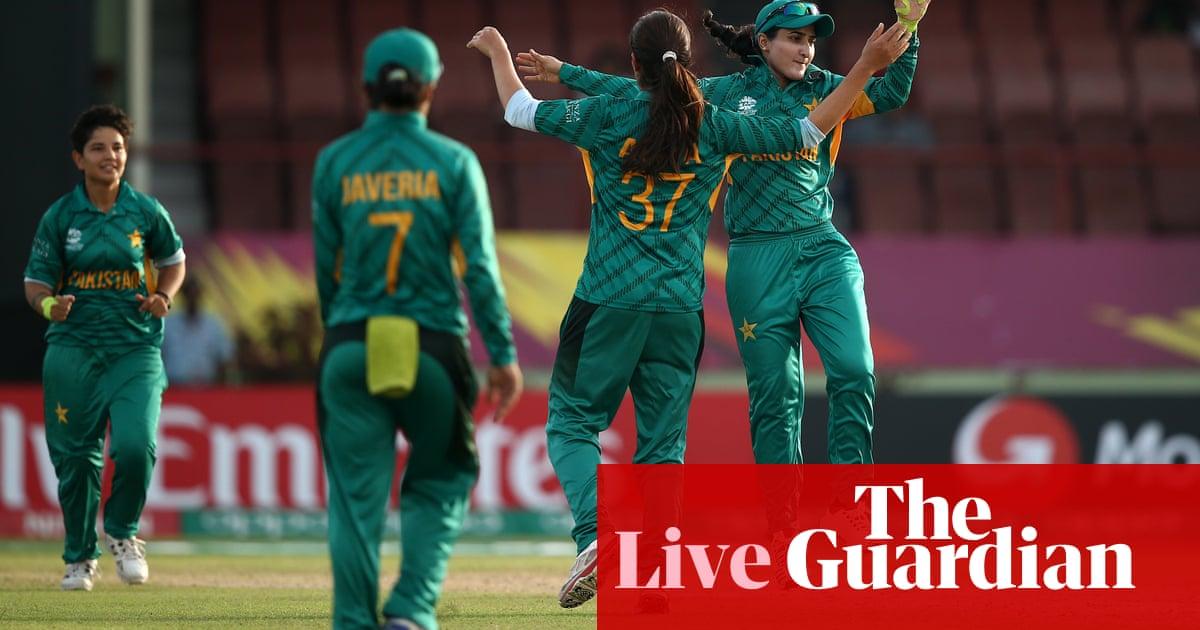 Women's World T20: Australia v Pakistan – live!