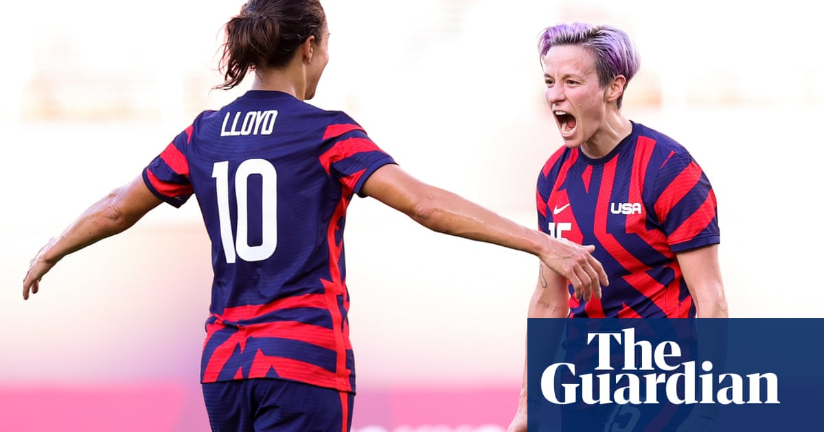 Rapinoe and Lloyd doubles grab bronze for US in thriller against Australia