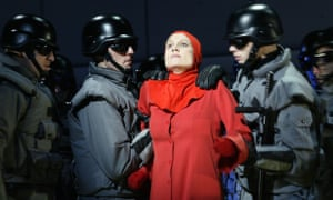 A scene from the English National Opera's 2003adaptation of The Handmaid's Tale.