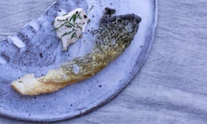 Off the scale: Tom Hunt's fish crackling.