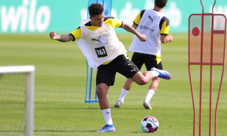 Jadon Sancho, who has been at Borussia Dortmund since 2017, is expected to sign a five-year contract at Old Trafford if United can reach agreement with the Bundesliga club.