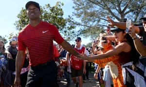 Tiger Woods said he was 'very pleased' after his week at Torrey Pines
