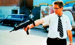 Michael Douglas in Falling Down, 1993