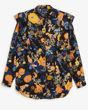 Orange and blue floral, £30, monki.com