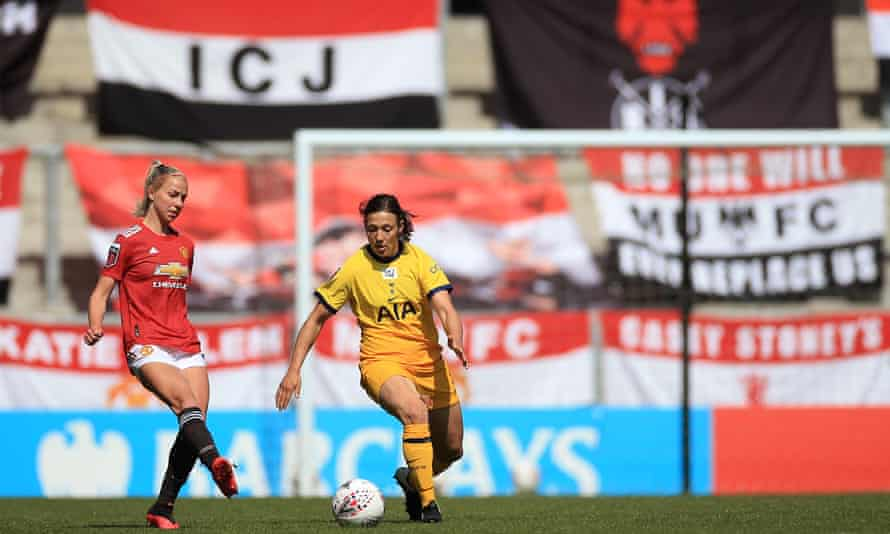 The women's game has been tied to the model of the men's Premier League, with teams such as Manchester United and Tottenham taking part in the WSL.