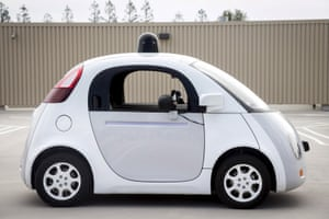 A prototype of Google's self-driving vehicle: the technology is underpinned by cloud computing networks.