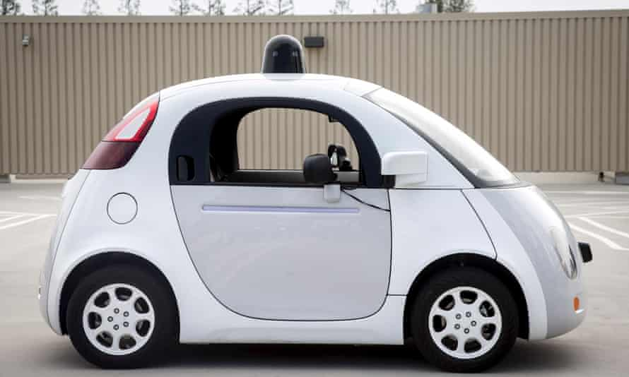 A prototype of Google's self-driving vehicle