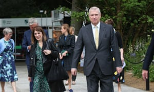 Prince Andrew and Amanda Thirsk